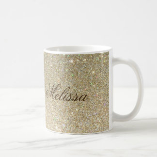 Stylish Glitter Customized Mug