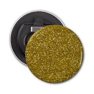 Stylish Glitter Gold Bottle Opener