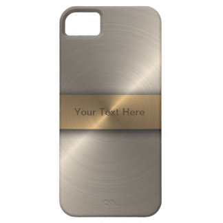 Stylish Gold iPhone 5 Cover