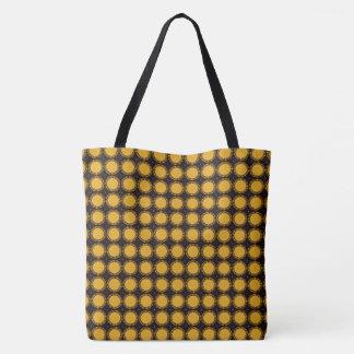 Stylish--Gold-Sun-Rise-Totes-Bag''s-Multi-Style' Tote Bag