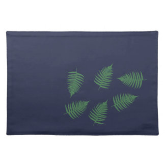 Stylish Green Lucky Fern Table Placemat