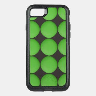 Stylish Green Pattern OtterBox Commuter iPhone 8/7 Case