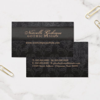 Stylish Grunge Glamour | The Spotted Olive | Business Card