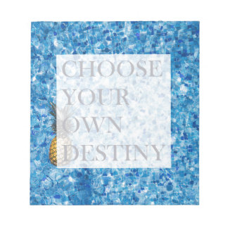Stylish holiday beautiful quote notepad