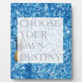 Stylish holiday beautiful quote plaque