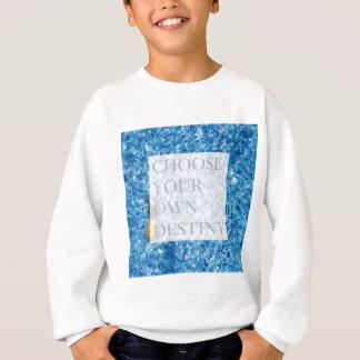 Stylish holiday beautiful quote sweatshirt
