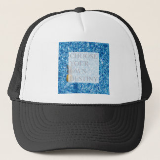 Stylish holiday beautiful quote trucker hat