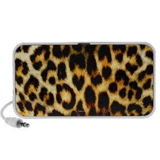 Stylish Holiday Christmas Wedding Leopard Pattern Mini Speaker