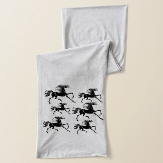Stylish Horse Pattern scarf