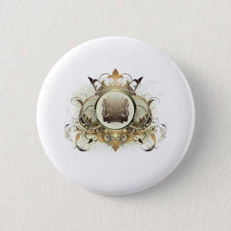 Stylish Kenya 6 Cm Round Badge