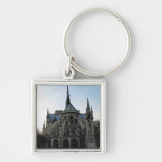 Stylish Keychain with Notre Dame de Paris