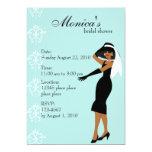 Stylish Lady Invitations