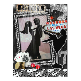 Stylish Las Vegas Wedding Invites