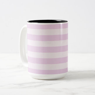 Stylish-Lavender-Stripes-Multi-Style Two-Tone Coffee Mug