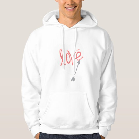 Stylish Love Arrow Funky Hoodie