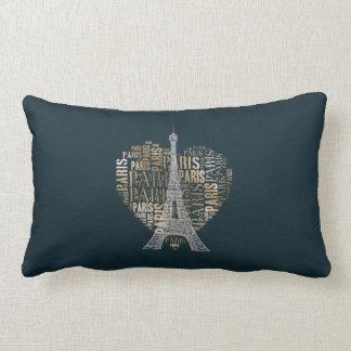 Stylish Love Paris Throw Cushion