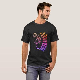 Stylish Machu Picchu Drawing T-Shirt