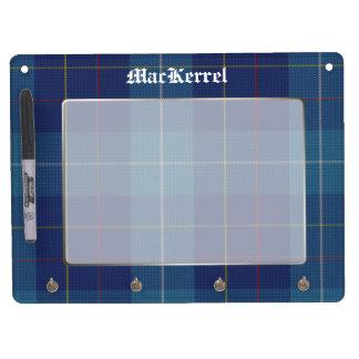 Stylish MacKerrell Tartan Plaid Custom Dry-Erase Whiteboard