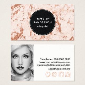 Stylish Makeup Artist Business Card Template