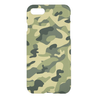 Stylish Manly Camouflage Camo Military Pattern iPhone 7 Case