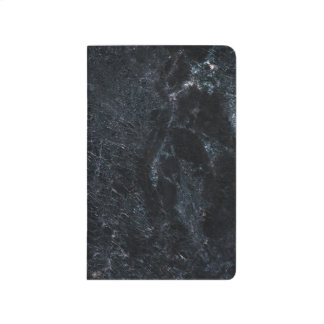 Stylish Marble Pocket Journal Noir