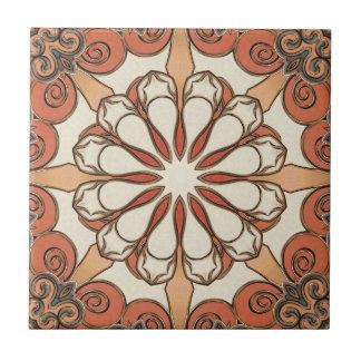 Stylish Mediterranean Geometric Ceramic Tile