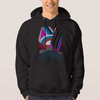 Stylish Modern Abstract Art Hoodie