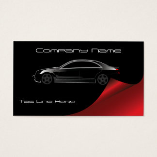 Stylish Modern Automotive Business Card