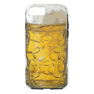 Stylish Modern Beer Glass Artwork iPhone 7 Case