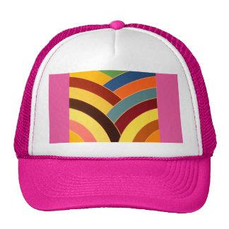 stylish modern chic chevron cap