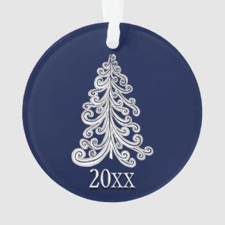 Stylish Modern Christmas Tree Doodle