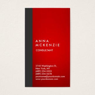 Stylish Modern Elegant Vertical Grey Red Stripe