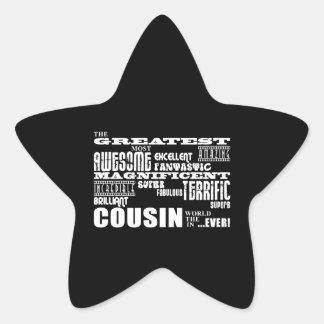 Stylish Modern Fun Cousins Greatest Cousin Sticker