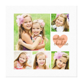 Browse the Collage Canvas Print Collection and personalize by color, design, or style.