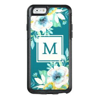 Stylish Monogram Floral OtterBox iPhone 6/6s Case