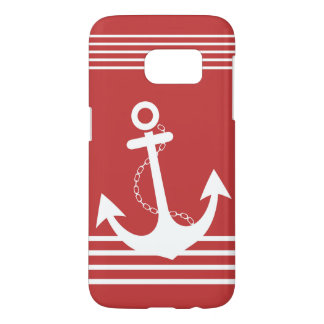 Stylish Nautical Red Design