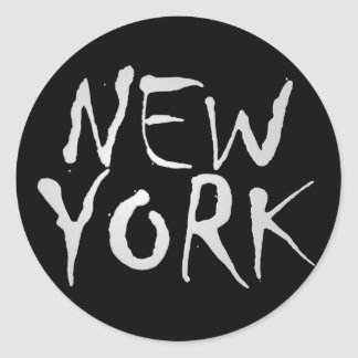 Stylish New York Sticker