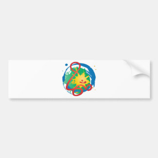 Stylish-Om Bumper Sticker