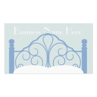 Stylish Ornate Bed Frame with Pillows Pack Of Standard Business Cards