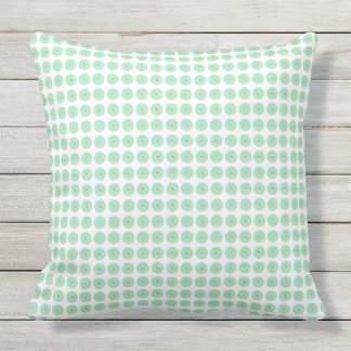 Stylish-Outdoor-Indoor-Mod-Floral-Mint--Pillow-Set Cushion