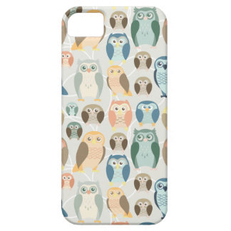 Stylish Owl Pattern- complementary colors iPhone 5 Case