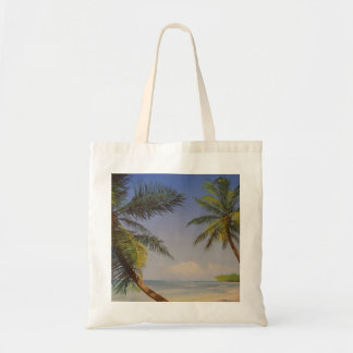 Stylish Palm Tree Budget Tote Bag