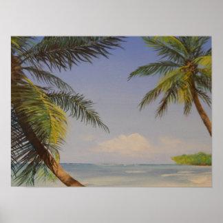 Stylish Palm Tree Poster