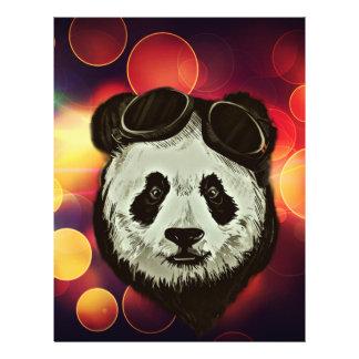 Stylish Panda Bear 21.5 Cm X 28 Cm Flyer