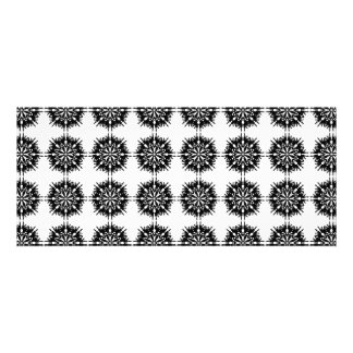 Stylish Pattern Black and White Announcement
