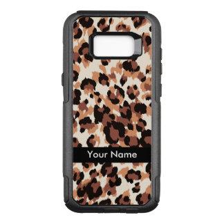 Stylish Pattern Name Drop OtterBox Commuter Samsung Galaxy S8+ Case