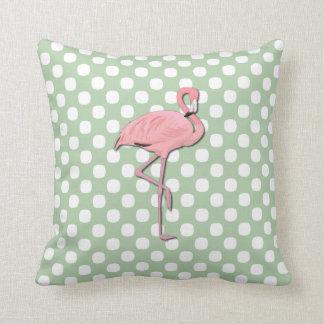 Stylish Pink Flamingo Pillow