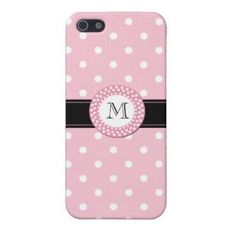 Stylish Pink Polka Dot iPhone 5C Case