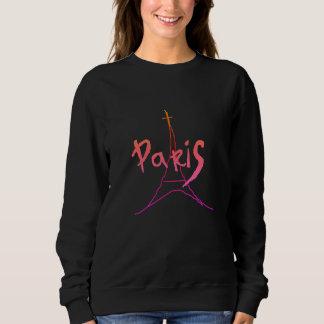 Stylish Pink / Purple Paris Sweatshirt
