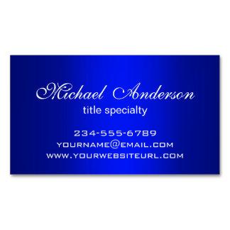 Stylish Plain Blue Gradient Multiple Purpose Magnetic Business Card